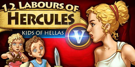 Ключ 12 Labours of Hercules V: Kids of Hellas (Platinum Edition)
