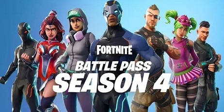 Аккаунт Fortnite Season 4