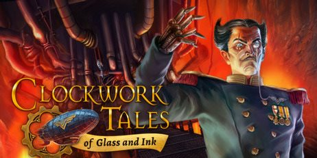 Ключ Clockwork Tales: Of Glass and Ink