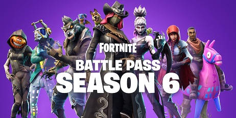 Аккаунт Fortnite Season 6